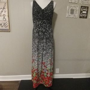 Chaps maxi dress